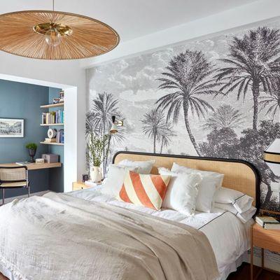 Renove o seu quarto com têxteis e papéis de parede