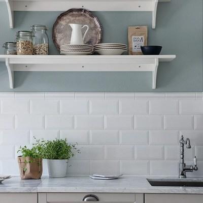 6. Revestir a frente da cozinha