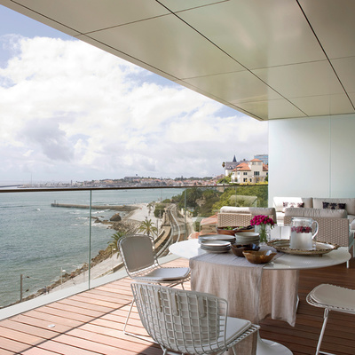 #7. Perfeitos para exteriores... os pisos de azulejo de resina