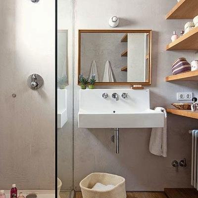 8 soluções para casas de banho pequenas
