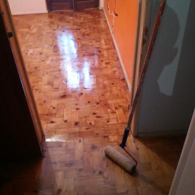 restauração de chão