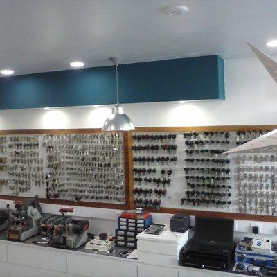 Remodelação eletrica de loja