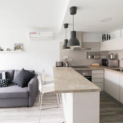 Bancada de cozinha de granito