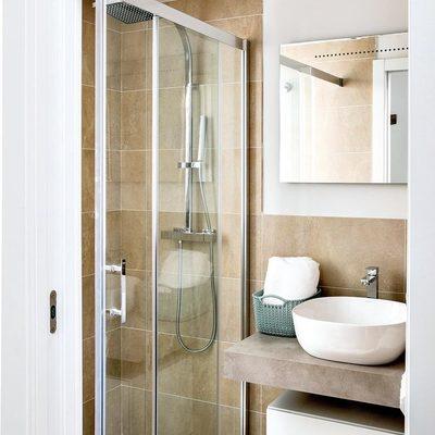 Banheiro com mampara