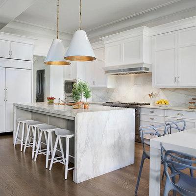 Mármore branco, um toque de elegância em qualquer cozinha