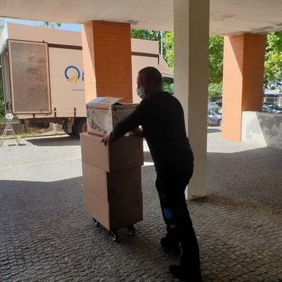 Serviço de Embalamento e Transporte