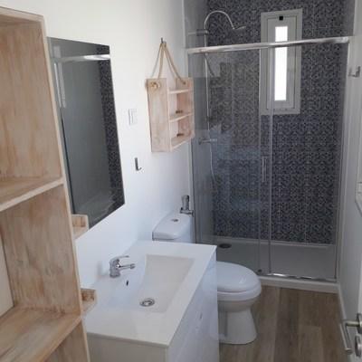 Criação de casa de banho em marquise