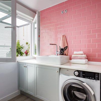 6 formas de ocultar a máquina de lavar