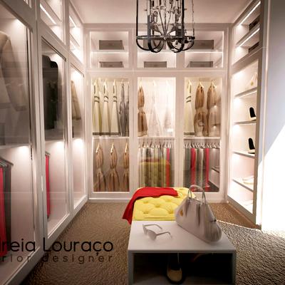 Closet pela Designer Andreia Louraço