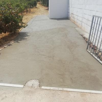 Colocação de betão