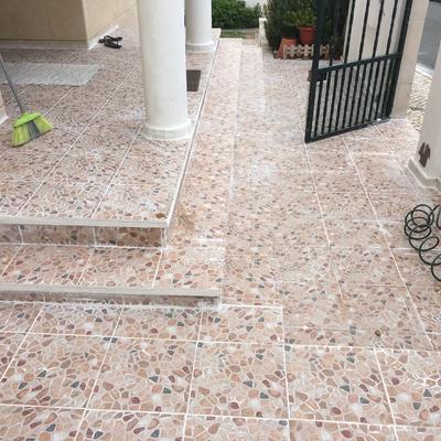 Colocação de pavimento cerâmico