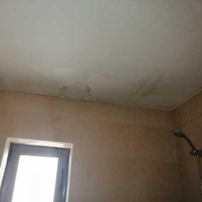 Restauração do tecto da casa de banho