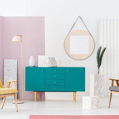 Como combinar cores na decoração da casa