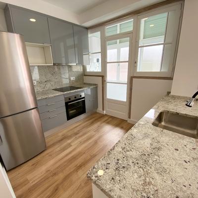 Apartamento com cozinha Open Space