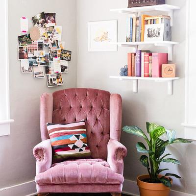 Criar um bonito canto para a leitura