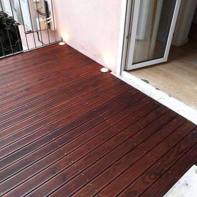 Substituição de deck e estrutura