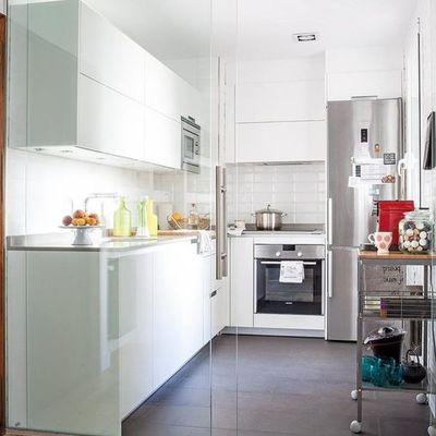 8 cozinhas muito bem aproveitadas