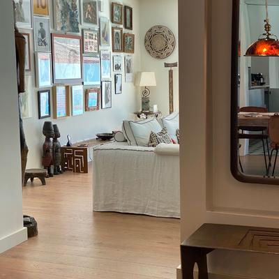 entrada e sala de estar