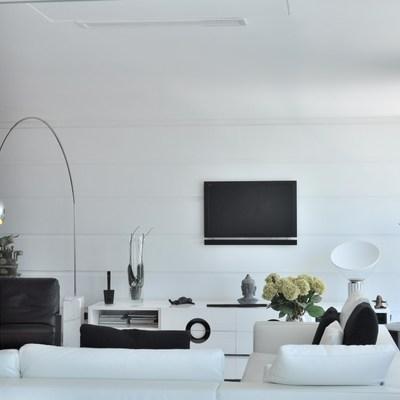 Apartamento em Lisboa decorado de maneira sobria e confortável