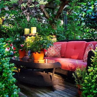 5 toldos originais para dar vida ao seu terraço