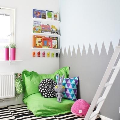 espaço para crianças