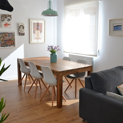 sala bem decorada