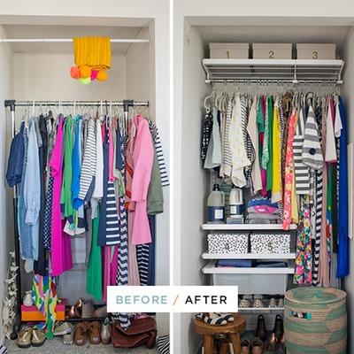 Como sobreviver se tiver um armário pequeno
