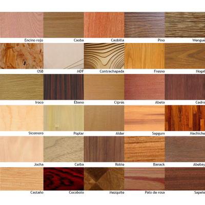 Como reconhecer cada tipo de madeira