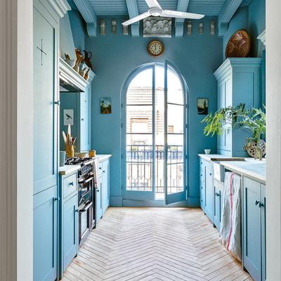 Diga-me que piso tem e dir-lhe-ei de que cor pintar a sua casa
