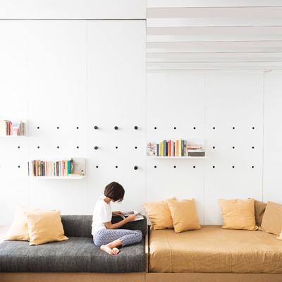 A combinação perfeita entre casa e estúdio