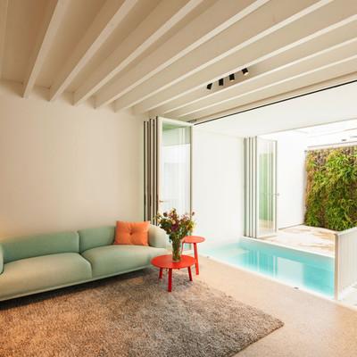 Duas casas que trabalham em equipa para alcançar a habitação perfeita