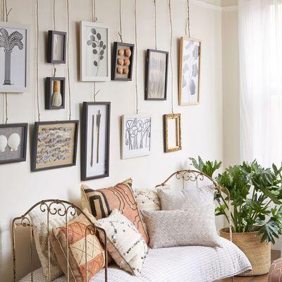 Como decorar as suas paredes, sem fazer furos