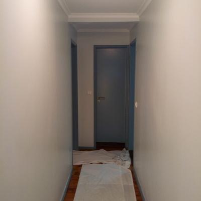Pintura apartamento em Lisboa (rato)