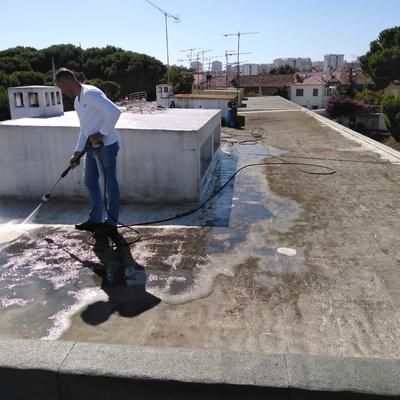 Impermeabilização de Cobertura do Edificio - Olivais Sul