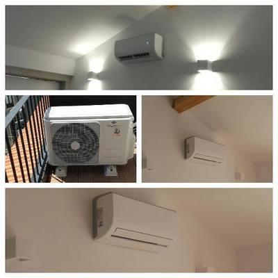 Instalação equipamento ar condicionado