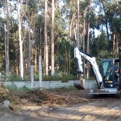 Limpeza geral de terreno