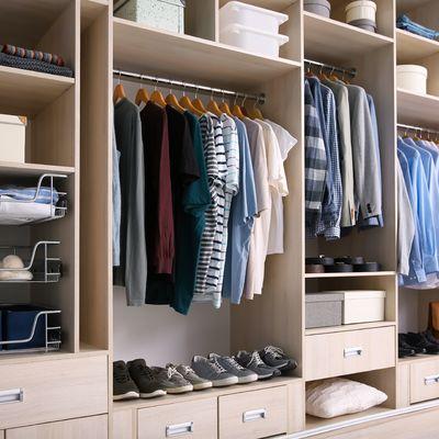 Organização do guarda-roupa