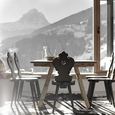 Decore o interior com o exterior: paisagens de inverno em nossa casa