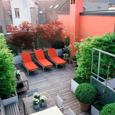 Pintar o terraço de 15m2