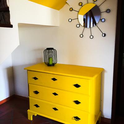 Pintura amarela