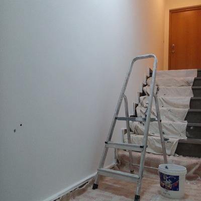 Pintura escada