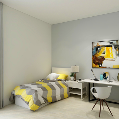 Projecto de design de interiores - T3 Carnaxide