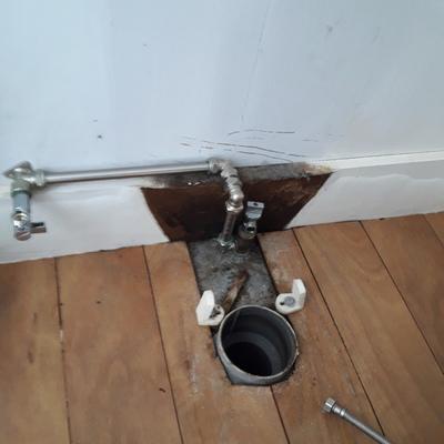 Remodelação de equipamento sanitário