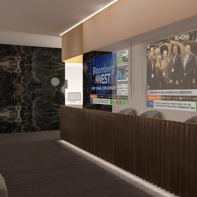 Projeto de Design de interiores - Escritórios