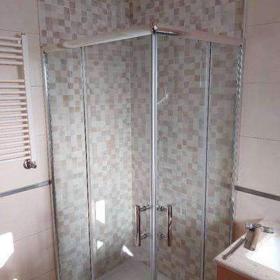 Colocação e substituição de base duche