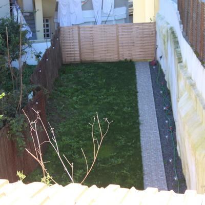 Limpeza de jardim.