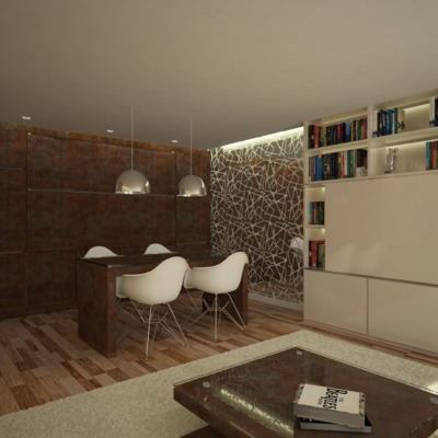 Projeto decoração T2 Luxemburgo