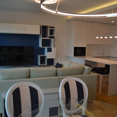 Projecto de Design de interiores de apartamento completo