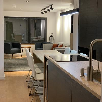 sala/cozinha open space