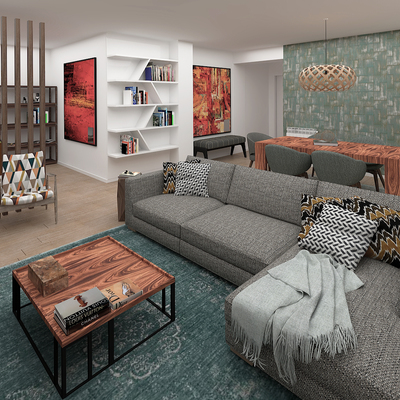 Design e Decoração num apartamento em Lavra